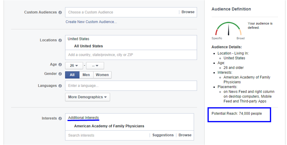 Facebook Ads vs Google Ads: Association Targeting