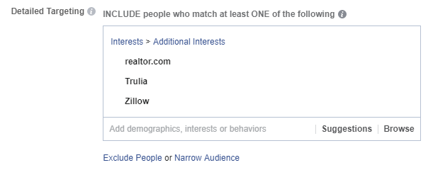 Targeting Realtor.com Trulia and Zillow
