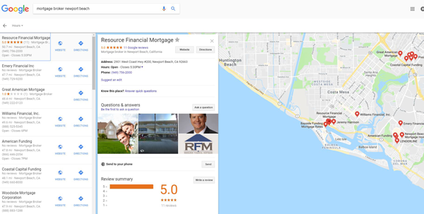 google-my-business-for-mortgage-brokers-example